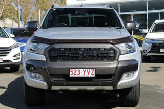 2017 Ford Ranger PX MkII 2018.00MY Wildtrak Double Cab Silver 6 Speed Sports Automatic Utility.