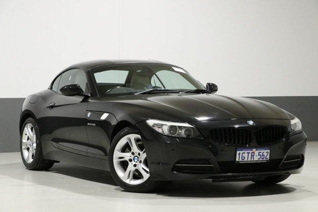 Used BMW Z4 E89 MY11 sDrive 30I, 2011 BMW Z4 E89 MY11 sDrive 30I Black 6 Speed Manual Roadster