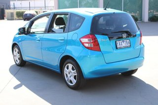 2011 Honda Jazz GE VTi Blue 5 Speed Automatic Hatchback