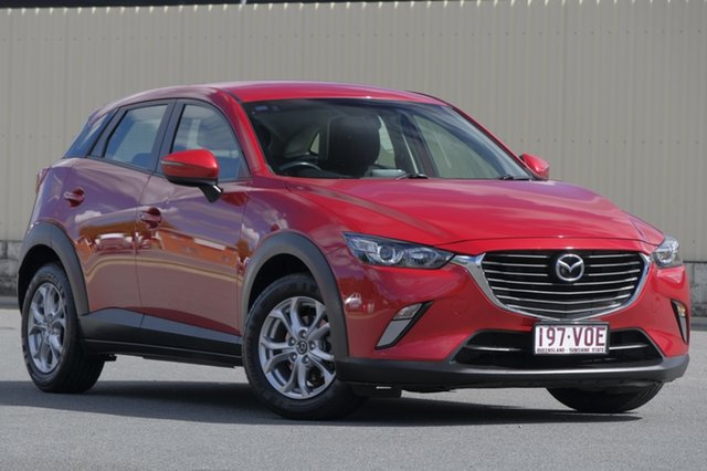 Used Mazda CX-3 DK2W7A Maxx SKYACTIV-Drive, 2015 Mazda CX-3 DK2W7A Maxx SKYACTIV-Drive Soul Red 6 Speed Sports Automatic Wagon