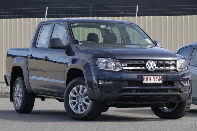 Demo Volkswagen Amarok 2H MY19 TDI550 4MOTION Perm Core, 2018 Volkswagen Amarok 2H MY19 TDI550 4MOTION Perm Core Starlight Blue 8 Speed Automatic Utility