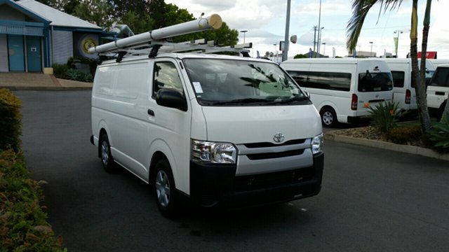 Used Toyota HiAce TRH201R LWB, 2015 Toyota HiAce TRH201R LWB French Vanilla 5 Speed Manual Van
