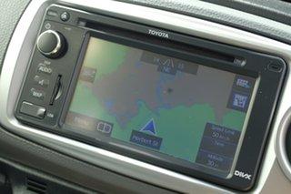 2013 Toyota Yaris NCP131R ZR Black 5 Speed Manual Hatchback