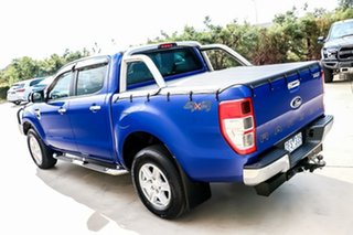 2012 Ford Ranger PX XLT Double Cab Aurora Blue 6 Speed Sports Automatic Utility.