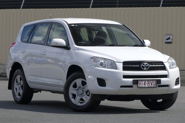 Used Toyota RAV4 ACA33R MY11 CV, 2011 Toyota RAV4 ACA33R MY11 CV White 4 Speed Automatic Wagon