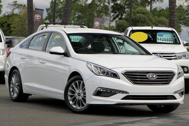 Used Hyundai Sonata LF3 MY17 Active, 2016 Hyundai Sonata LF3 MY17 Active White 6 Speed Sports Automatic Sedan