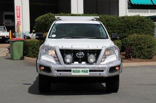 2015 Toyota Landcruiser Prado KDJ150R MY14 GX Glacier 5 Speed Sports Automatic Wagon.