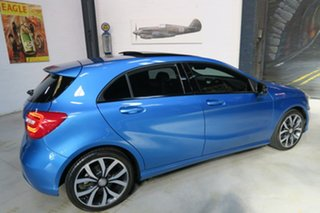 2014 Mercedes-Benz A180 W176 805+055MY D-CT Blue 7 Speed Sports Automatic Dual Clutch Hatchback