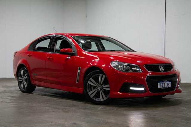 Used Holden Commodore VF MY14 SS, 2013 Holden Commodore VF MY14 SS Red 6 Speed Manual Sedan