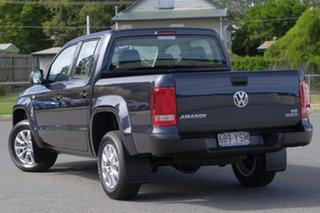 2018 Volkswagen Amarok 2H MY19 TDI550 4MOTION Perm Core Starlight Blue 8 Speed Automatic Utility.