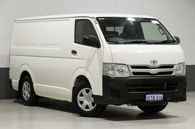 Used Toyota HiAce TRH201R MY12 Upgrade LWB, 2013 Toyota HiAce TRH201R MY12 Upgrade LWB White 4 Speed Automatic Van