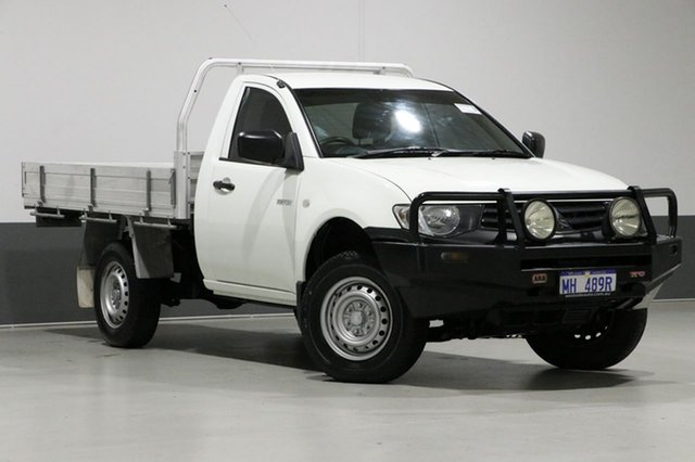 Used Mitsubishi Triton MN MY12 GL, 2013 Mitsubishi Triton MN MY12 GL White 5 Speed Manual Cab Chassis