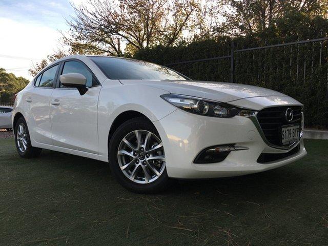 Used Mazda 3 BN5278 Maxx SKYACTIV-Drive Sport, 2018 Mazda 3 BN5278 Maxx SKYACTIV-Drive Sport White 6 Speed Sports Automatic Sedan