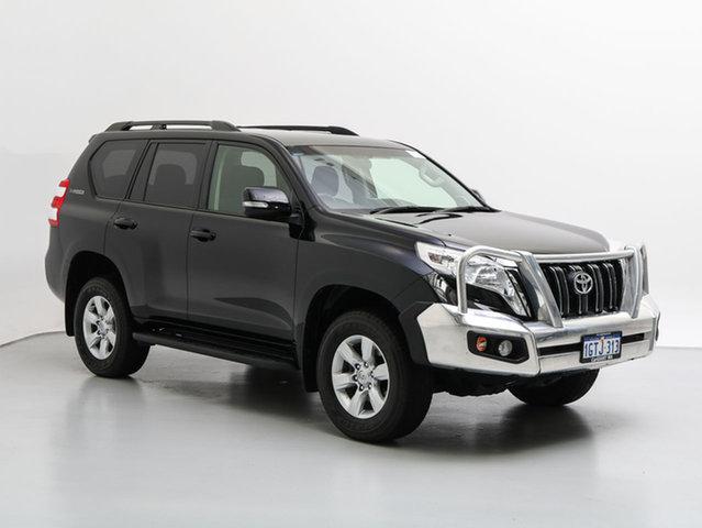 Used Toyota Landcruiser Prado GDJ150R MY16 GXL (4x4), 2016 Toyota Landcruiser Prado GDJ150R MY16 GXL (4x4) Black 6 Speed Automatic Wagon