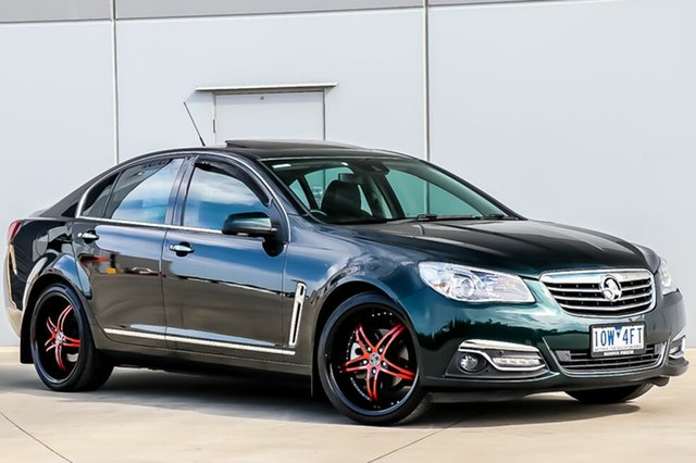 Used Holden Calais VF MY14 V, 2014 Holden Calais VF MY14 V Regal Peacock Green 6 Speed Sports Automatic Sedan