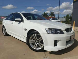 2010 Holden Commodore VE MY10 SV6 White 6 Speed Sports Automatic Sedan.
