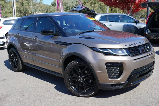 Used Land Rover Range Rover Evoque L538 MY16.5 SI4 HSE Dynamic, 2016 Land Rover Range Rover Evoque L538 MY16.5 SI4 HSE Dynamic Brown 9 Speed Sports Automatic Wagon