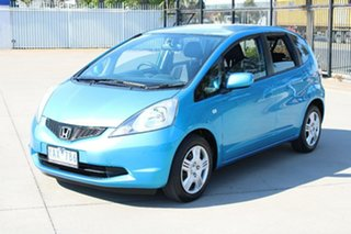2011 Honda Jazz GE VTi Blue 5 Speed Automatic Hatchback.