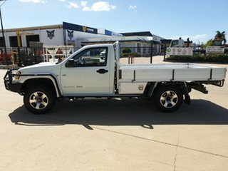 2009 Holden Colorado RC MY09 DX White 5 Speed Manual Cab Chassis
