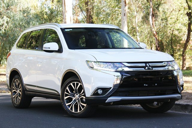 Used Mitsubishi Outlander ZK MY17 LS 2WD, 2017 Mitsubishi Outlander ZK MY17 LS 2WD White 6 Speed Constant Variable Wagon