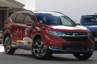 2018 Honda CR-V RW MY19 VTi-LX 4WD Passion Red 1 Speed Constant Variable Wagon.