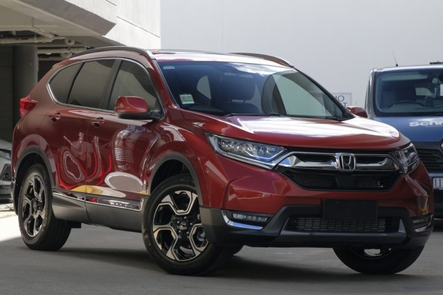 Demo Honda CR-V RW MY19 VTi-LX 4WD, 2018 Honda CR-V RW MY19 VTi-LX 4WD Passion Red 1 Speed Constant Variable Wagon