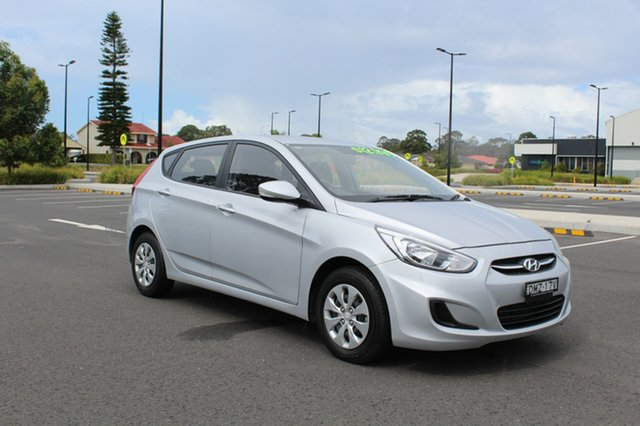Used Hyundai Accent  Active, 2016 Hyundai Accent Active Sleek Silver Constant Variable Hatchback
