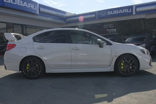 2017 Subaru WRX V1 MY18 STI AWD Premium White Crystal 6 Speed Manual Sedan.
