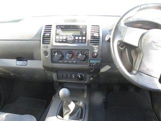 2010 Nissan Navara D40 ST-X White 6 Speed Manual Utility