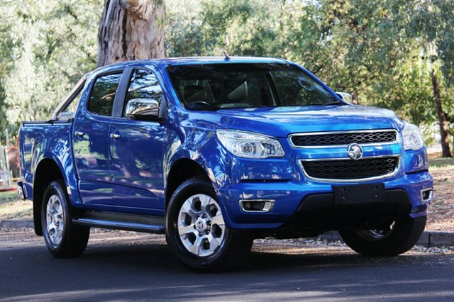 Used Holden Colorado RG MY15 LTZ Crew Cab, 2015 Holden Colorado RG MY15 LTZ Crew Cab Blue 6 Speed Sports Automatic Utility