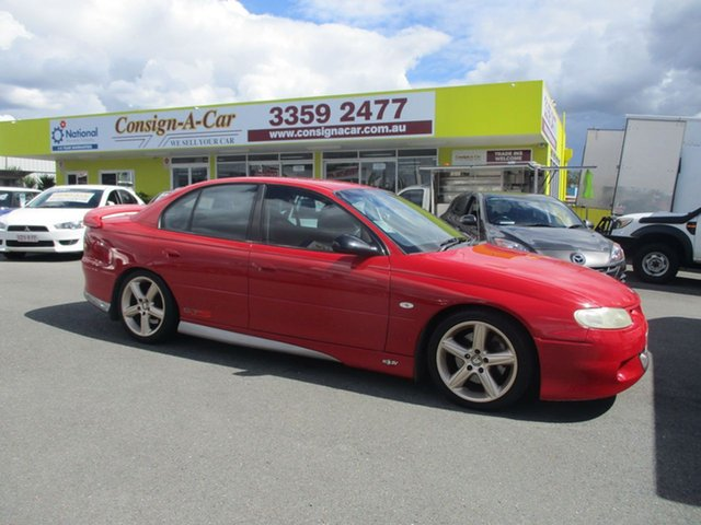 Used Holden Special Vehicles GTS VT , 1998 Holden Special Vehicles GTS VT Red 6 Speed Manual Sedan