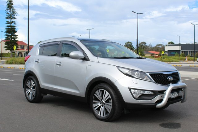 Used Kia Sportage  Platinum, 2014 Kia Sportage Platinum Machine Silver Sports Automatic Wagon