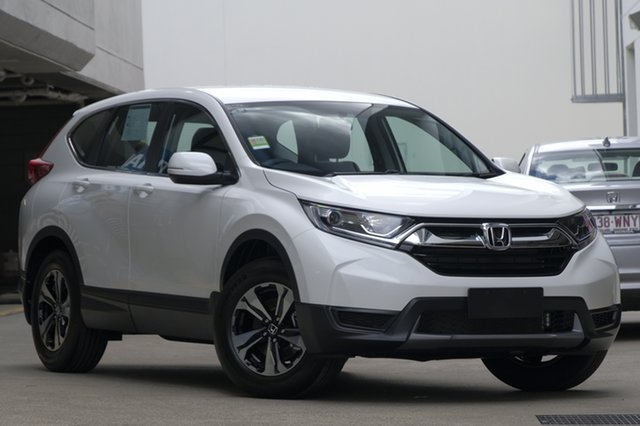 Demo Honda CR-V RW MY19 Vi FWD, 2019 Honda CR-V RW MY19 Vi FWD White Orchid 1 Speed Constant Variable Wagon