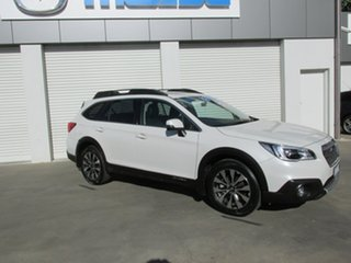 2014 Subaru Outback B6A MY15 2.0D CVT AWD Premium White 7 Speed Constant Variable Wagon.