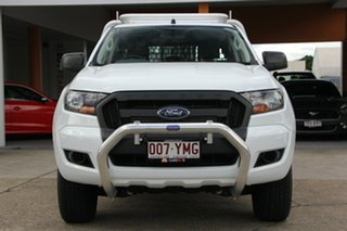 2017 Ford Ranger PX MkII 2018.00MY XL 4x2 Hi-Rider White 6 Speed Sports Automatic Cab Chassis