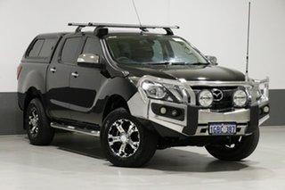 2015 Mazda BT-50 MY13 GT (4x4) Black 6 Speed Automatic Dual Cab Utility.