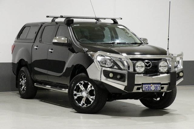 Used Mazda BT-50 MY13 GT (4x4), 2015 Mazda BT-50 MY13 GT (4x4) Black 6 Speed Automatic Dual Cab Utility