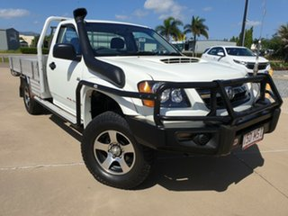 2009 Holden Colorado RC MY09 DX White 5 Speed Manual Cab Chassis.