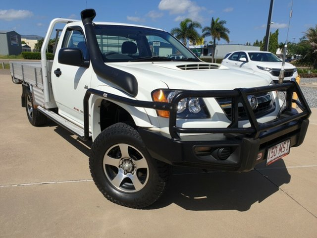 Used Holden Colorado RC MY09 DX, 2009 Holden Colorado RC MY09 DX White 5 Speed Manual Cab Chassis