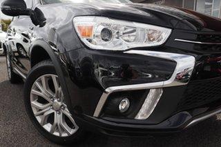 2018 Mitsubishi ASX XC MY19 ES ADAS ( 2WD) Black Continuous Variable Wagon.