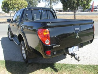 2014 Mitsubishi Triton MN MY15 GLX Double Cab Black 5 Speed Manual Utility