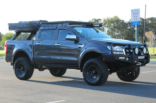 Used Ford Ranger  XLT, 2016 Ford Ranger XLT Magnetic Grey Manual Dual Cab Utility
