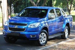 2015 Holden Colorado RG MY15 LTZ Crew Cab Blue 6 Speed Sports Automatic Utility.