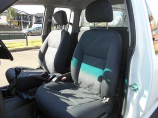 2009 Holden Colorado RC LX (4x4) White 5 Speed Manual Service Body