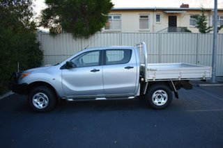 2012 Mazda BT-50 UP0YF1 XT Silver 6 Speed Manual Cab Chassis