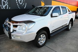 2012 Holden Colorado RG MY13 LT Crew Cab Summit White 6 Speed Sports Automatic Utility