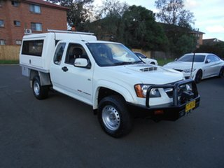 2009 Holden Colorado RC LX (4x4) White 5 Speed Manual Service Body.