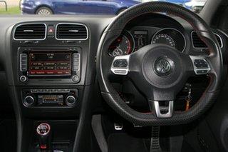 2011 Volkswagen Golf VI MY11 GTi Black 6 Speed Manual Hatchback