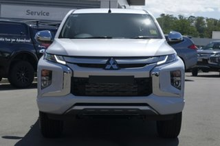 2018 Mitsubishi Triton MR MY19 GLS Double Cab White 6 Speed Manual Utility