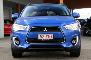 2016 Mitsubishi ASX XB MY15.5 XLS 2WD Blue 6 Speed Constant Variable Wagon